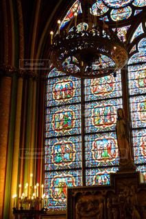 ノートルダム大聖堂の写真・画像素材[1855017]