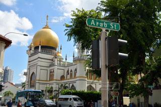 サルタンモスク  シンガポールの写真・画像素材[1855085]