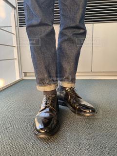 革靴アップの写真・画像素材[1853930]