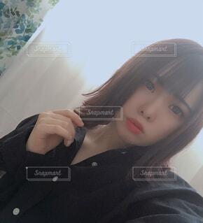 美容院帰りにての写真・画像素材[4095389]