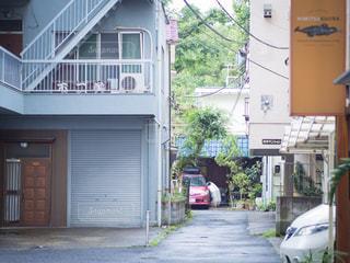 裏道小道の写真・画像素材[2321284]