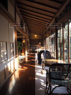 縁側カフェ昭和の家(東京)の写真・画像素材[1069874]