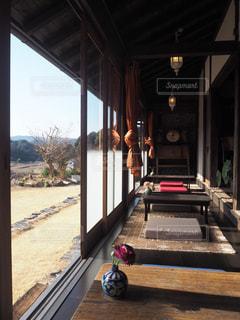 古民家カフェの縁側(Oraオリエンタル雑貨とカフェ)の写真・画像素材[1069875]