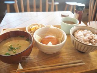 たまごかけご飯定食の写真・画像素材[1774908]