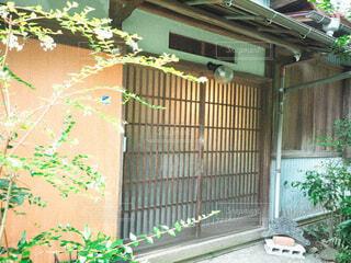 昭和の家の玄関の写真・画像素材[3822308]