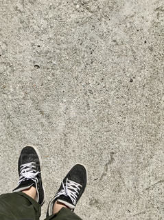 足のペアの写真・画像素材[1861928]