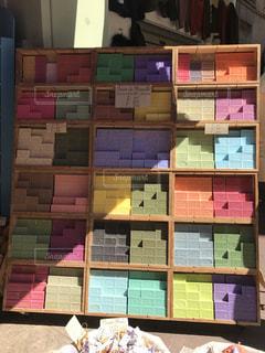 南仏ニースのサボン専門店の写真・画像素材[1949813]