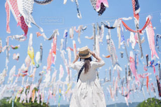 凧が泳ぐの写真・画像素材[2095951]