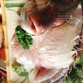 鯛のお造りの写真・画像素材[1863290]