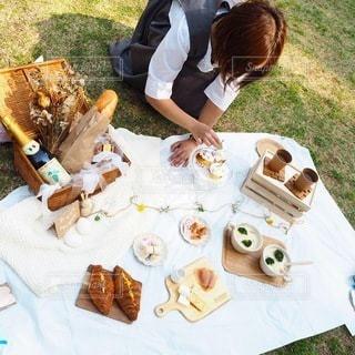 ピクニックの写真・画像素材[3454714]