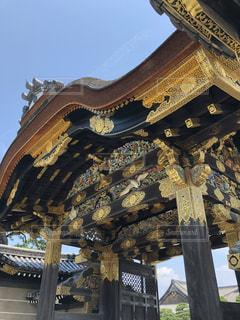二条城の唐門の写真・画像素材[1877344]