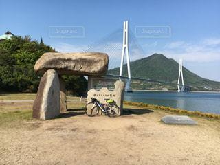 しまなみ海道サイクリングの写真・画像素材[1866400]