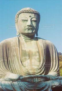 鎌倉大仏の写真・画像素材[1867914]
