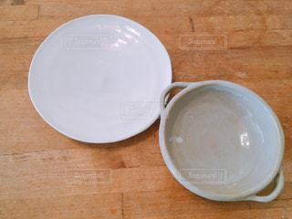 陶芸で作ったお皿の写真・画像素材[1868274]