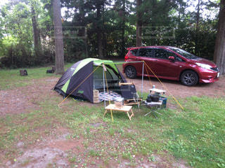 ソロ&ロースタイルキャンプの写真・画像素材[2159312]