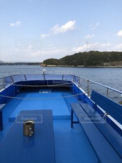 船の上からの景色の写真・画像素材[1873945]