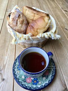 パンとコーヒーの写真・画像素材[2146182]