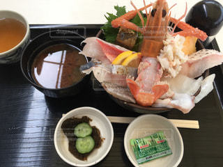 深海鮮丼の写真・画像素材[1878965]