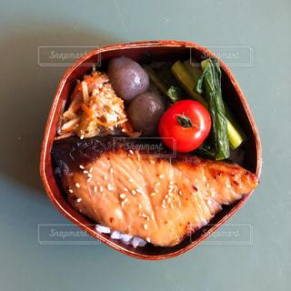 魚の照り焼き弁当の写真・画像素材[1964306]