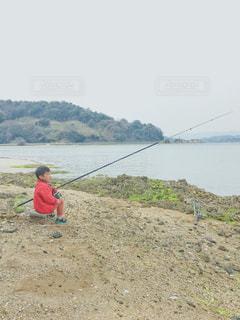 釣りを楽しむの写真・画像素材[2056653]
