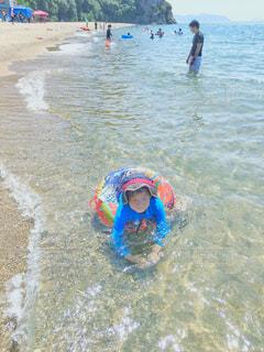 夏の海満喫🏖の写真・画像素材[2056725]