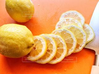 レモンの輪切り🍋の写真・画像素材[2148242]