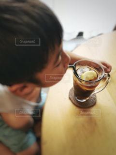 暑い日は冷たい飲み物で休憩🍷の写真・画像素材[2148995]