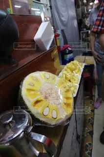 ダナンの市場でジャックフルーツ発見!美味しい!の写真・画像素材[1875817]