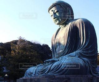 鎌倉の大仏の写真・画像素材[1876484]
