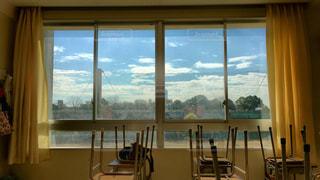 高校の窓の写真・画像素材[1877818]