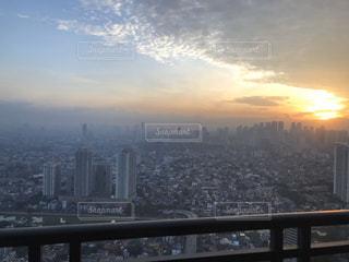 高層階からの景色の写真・画像素材[2888726]