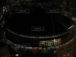 ホテルから眺めるヤフオクドームの写真・画像素材[2202335]