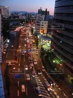 熊本市街地ビルから眺めるの写真・画像素材[2262464]