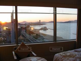 ホテル高層階から百道浜を眺める。の写真・画像素材[2292966]