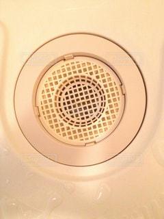 浴室排水口2の写真・画像素材[1937071]