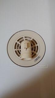 洗濯機置場 排水口2の写真・画像素材[4312001]