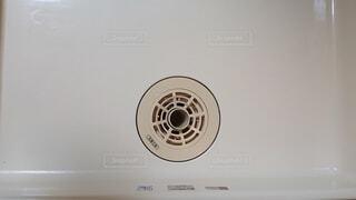 洗濯機置場 排水口1の写真・画像素材[4312002]