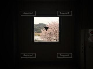 窓の中の風景の写真・画像素材[1988664]
