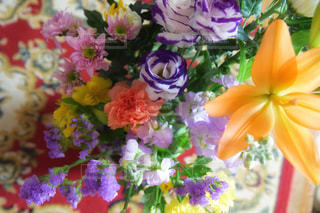 花のクローズアップの写真・画像素材[2121754]