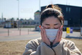マスクで予防の写真・画像素材[2941121]
