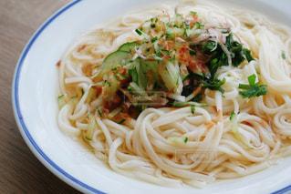 オカベ半田の麺でお昼ごはんの写真・画像素材[3094088]