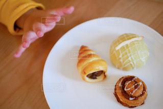 可愛い美味しいパンの写真・画像素材[3228967]