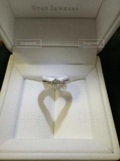 婚約指輪の写真・画像素材[1880201]