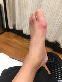 人の足のアップの写真・画像素材[1881414]
