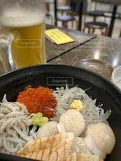 海鮮丼の写真・画像素材[3364181]
