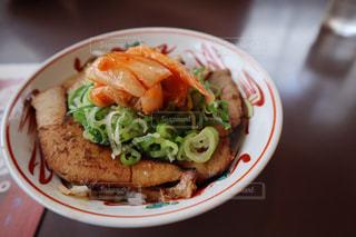 チャーシュー丼の写真・画像素材[1881685]