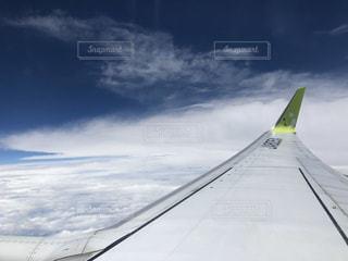 飛行機に乗った〜の写真・画像素材[3055452]