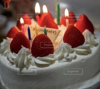 バースデーケーキの写真・画像素材[2583348]