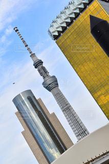 街の塔の写真・画像素材[2098408]