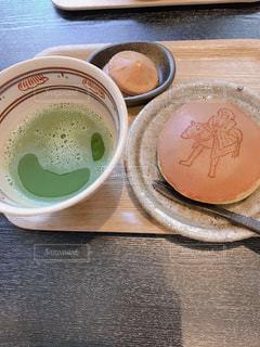 ちょっと休憩に抹茶をの写真・画像素材[1883970]
